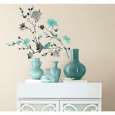 Removable Flowers Mural Wall Stickers Decal DIY Room Decor Vinyl Art Tree Birds