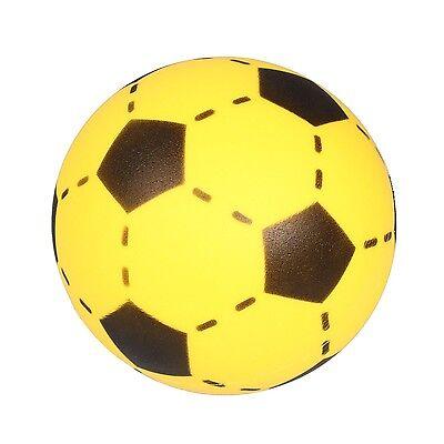 Simon SOFTBALL Schaumstoff Ball Fußball Softfußball Größe 20cm gelb