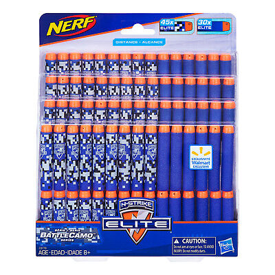 Nerf N-Strike BattleCamo Series Dart Refill 75 Darts