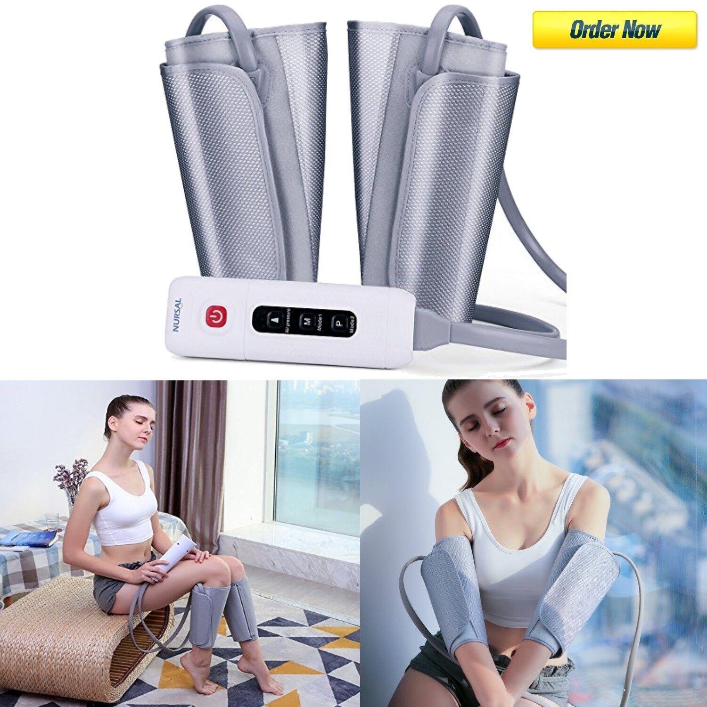 leg air compression massager arm massage waist