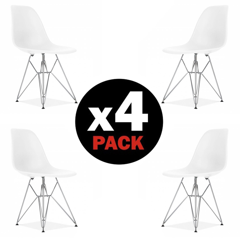 Sillas de color principal blanco para el hogar | eBay