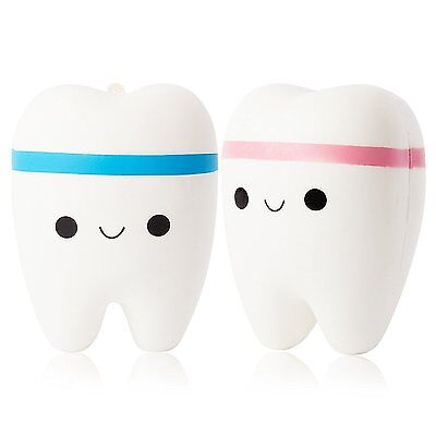 Slow Rising Jumbo Cute Scented Tooth Squishy