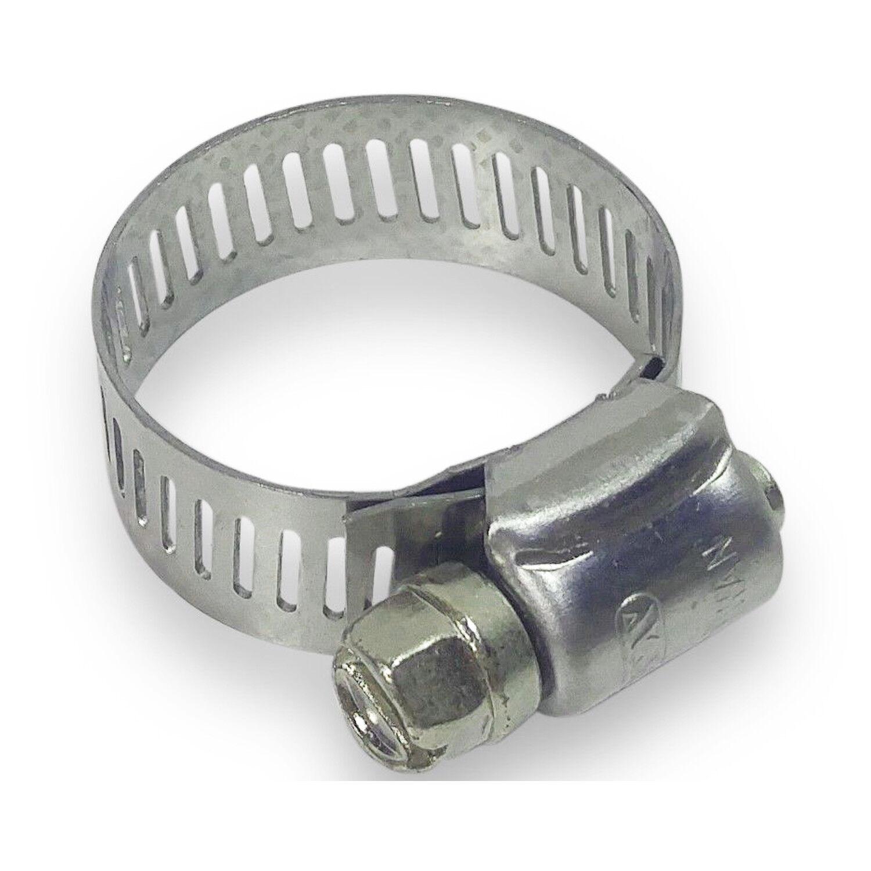 """K Interlocked Worm Gear Hose Clamp; PK10 2-3//4/"""" 3//4/"""" 9//16/"""" Wide"""