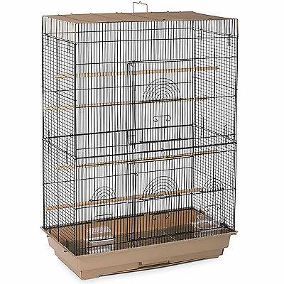 "36""H Bird Cage Perch Stand Finch Parakeet Canary Flight Cage Pet Supply Medium"