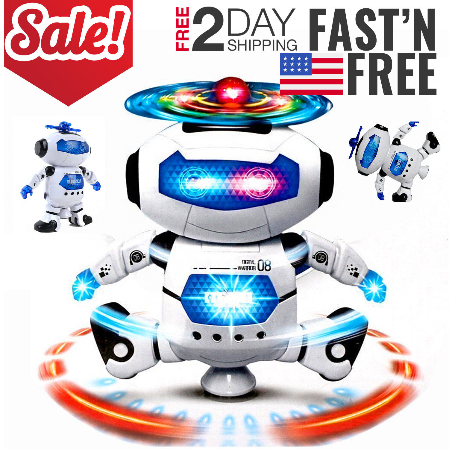 Toys For Girls Robot Kids Toddler Robot 3 4 5 6 7 8 9 Year Old Age