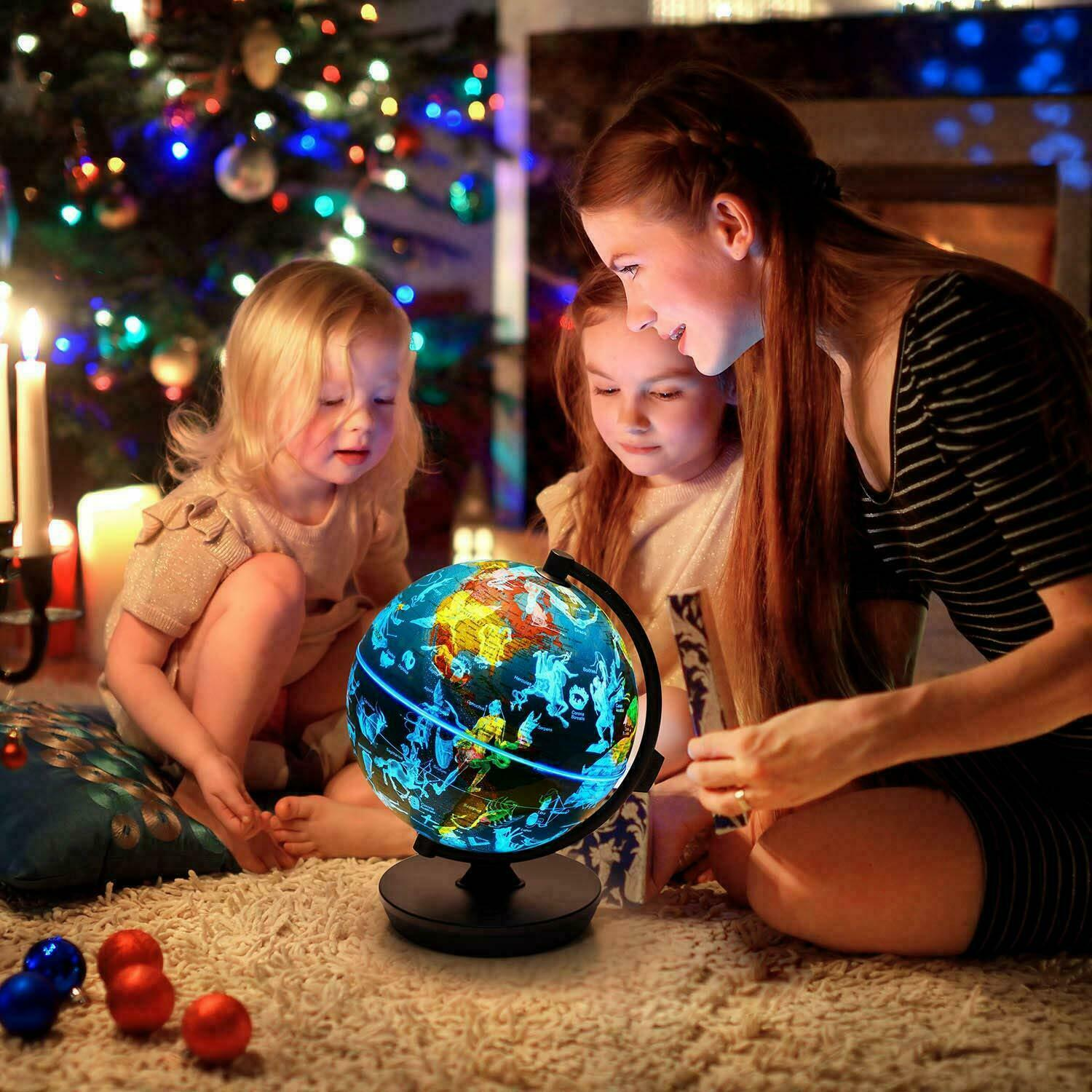 Oregon Scientific 3 In 1 Illuminated Smart World Children's Globe AR App Gift Educational