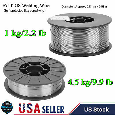 2.29.9 Lb E71t-gs Gasless-flux Core Wire Welding Self-shielded Weld Accessories