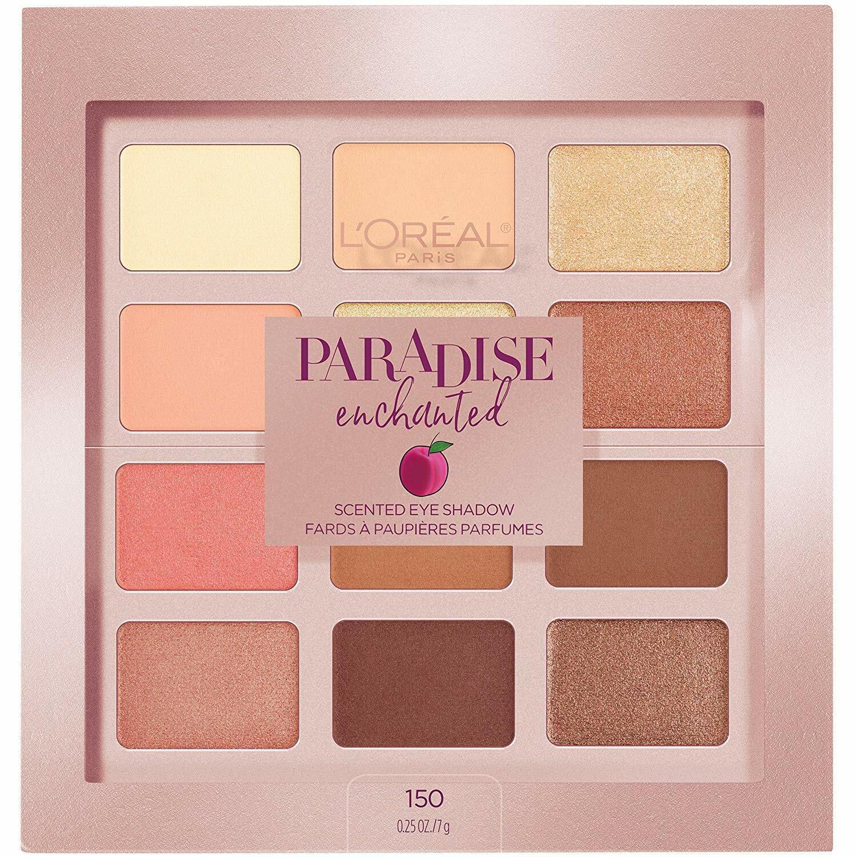 L'Oréal Paris Paradise Enchanted Scented Eyeshadow Palette,