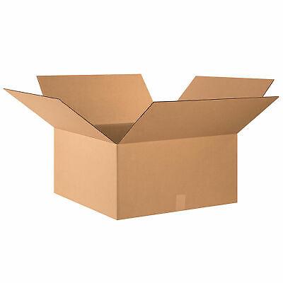 24 X 24 X 12 Heavy-duty Cardboard Corrugated Boxes 95 Lbs Capacity