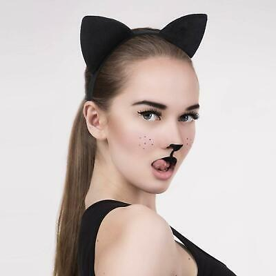Fox Ears Halloween (Cat Fox Ears Headband Costume Fur Anime Neko Cosplay Hair Clip Party)