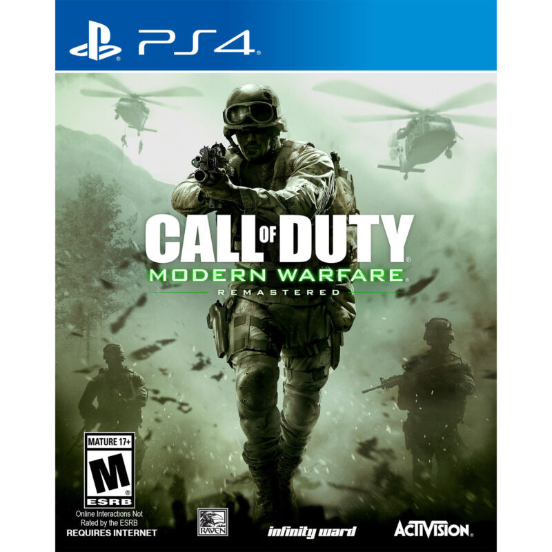 Call of Duty: Modern Warfare Remastered PlayStation 4 88074