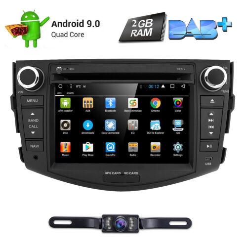 For 2006-2012 TOYOTA RAV4 Android10.0 Car DVD Player GPS Radio Navigation Stereo