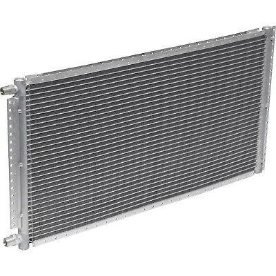 """A/C AC Universal Condenser 14"""" X 20"""" Parallel High Flow O-ring #6 & #8"""