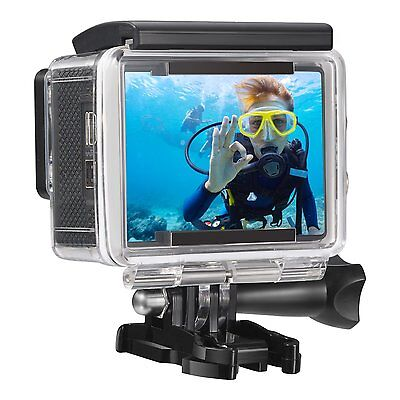 Full HD 1080p Waterproof Action Camera With Box And Accessories BRAND NEW