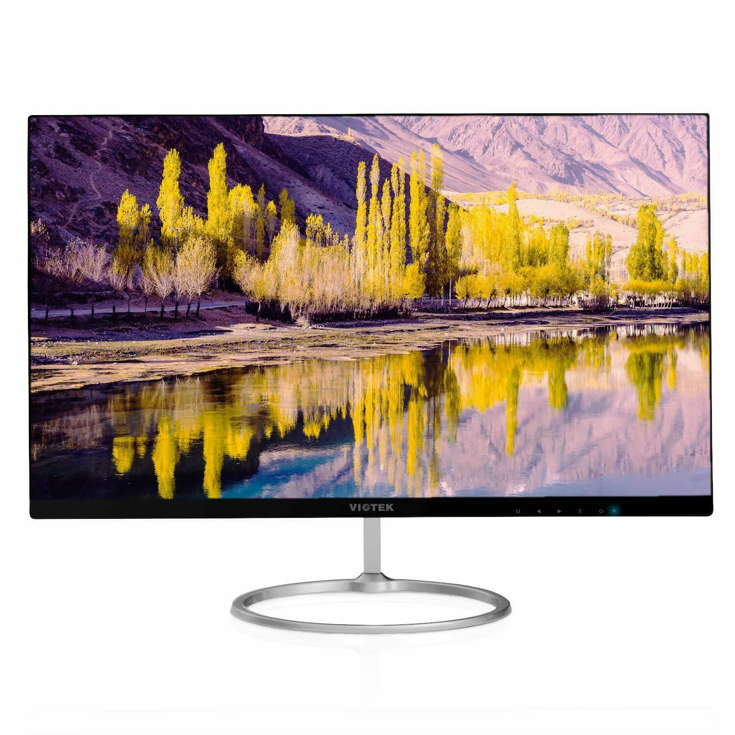 VIOTEK HA238 24-Inch Ultra-Thin Computer Monitor Full HD 192
