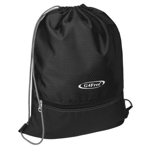 Large String Drawstring Backpack Cinch Sack Gym Bag Tote Sch