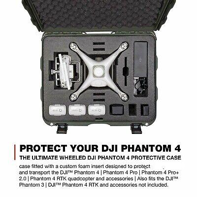DJI Ghost 4/4 Adv/4 Pro Plus/4 RTK/Phantom 3 Drone Professional Wheel Case