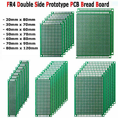 10pcs Double-sided Pcb Circuit Module Board Prototype Breadboard For Arduino