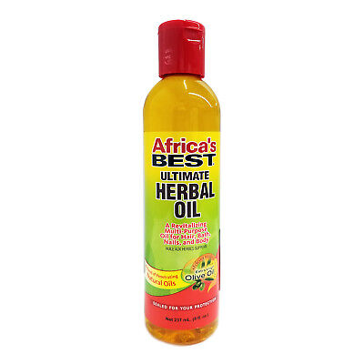 [AFRICA'S BEST] ULTIMATE HERBAL OIL FOR HAIR, BATH AND BODY