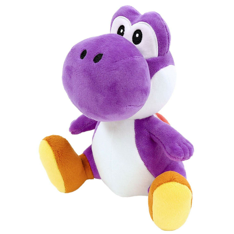 "Little Buddy Super Mario Bros. Yoshi Stuffed Plush, 6"", Purp"