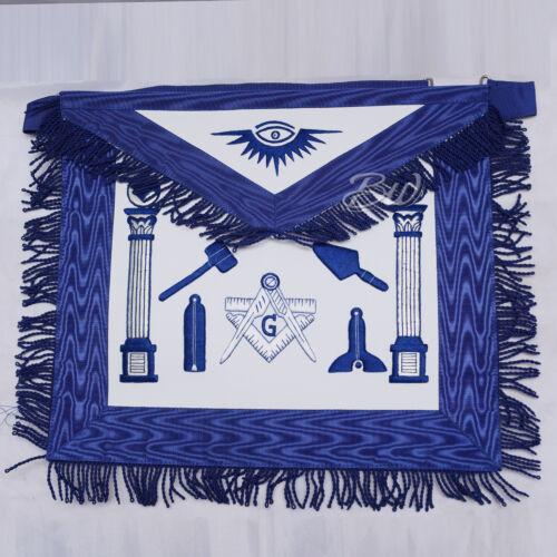Blue Apron Masonic Regalia Master Mason Working Tools