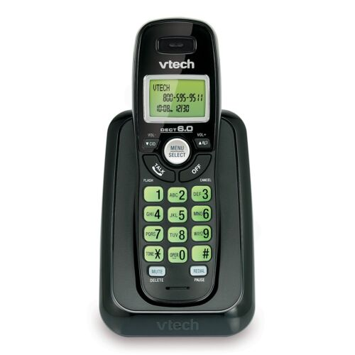 Vtech CS6114-11 Cordless Phone w/ Caller ID/Call Waiting - 1 Handset - Black ™