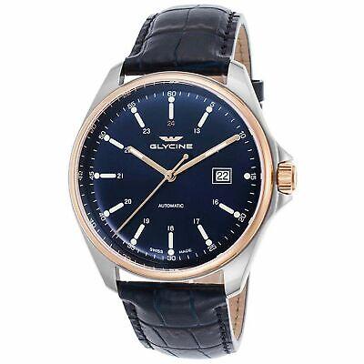 Glycine 3890.383.LBK8 Men's Combat 6 Classic Automatic Watch - No Tags