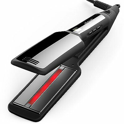 Xtava Pro Satin Infrared Unvarying Iron Professional Ceramic Plates Hair Straightener