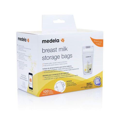 Medela 6 oz Breast Milk Storage Bags 100 count Box