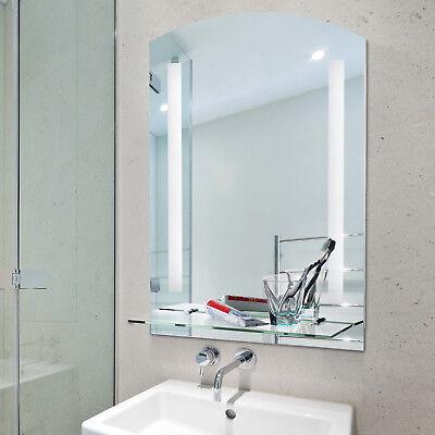 Lichtspiegel Badspiegel mit LED Badezimmerspiegel Wandspiegel Spiegel