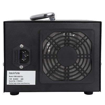 Commercial Home Ozone Generator 5000mg/h O3 Industrial Air Purifier Deodorizer