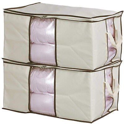 Jumbo Comforter - Jumbo Zippered Storage Bags Closet King Comforter Clothes Blanket Space Saver
