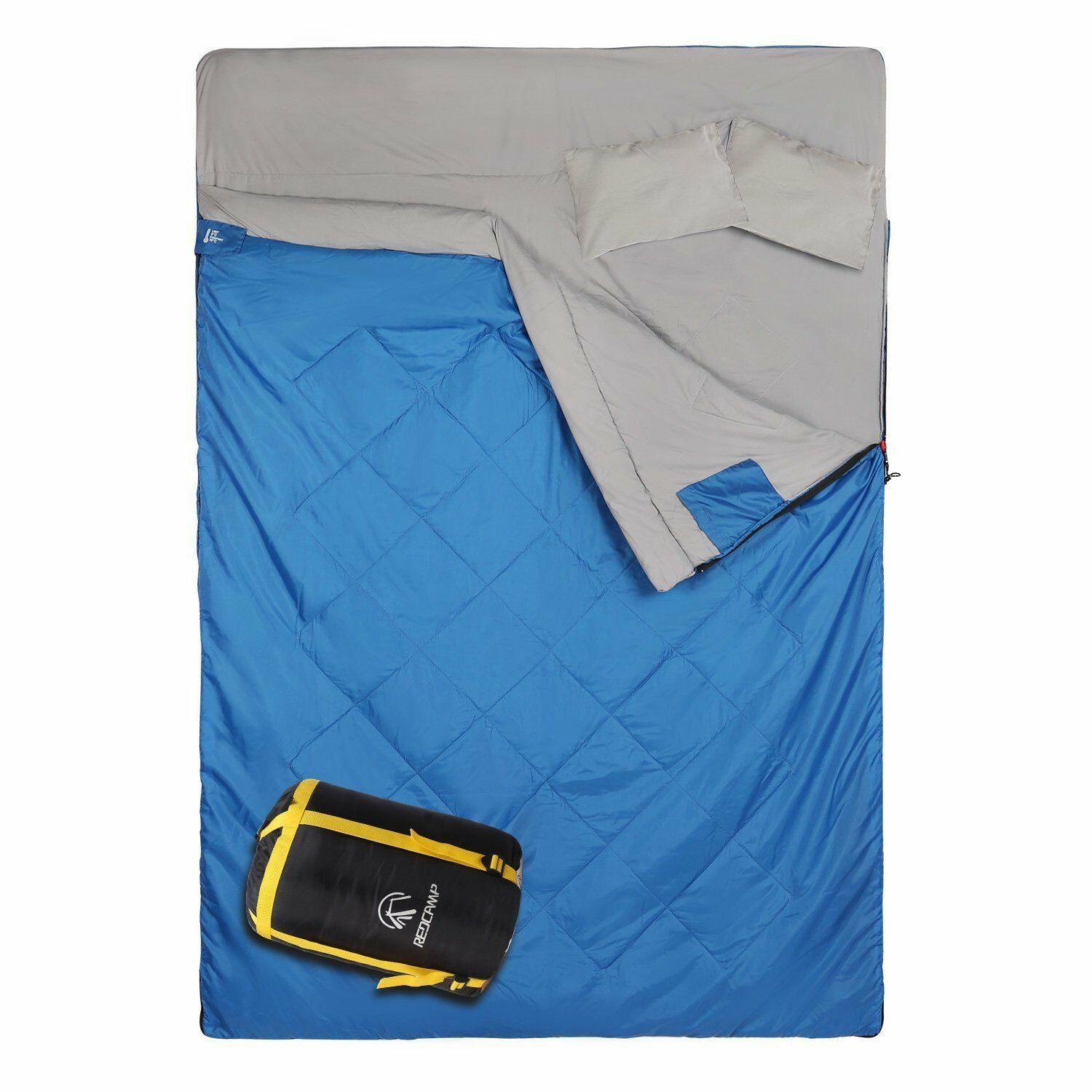 REDCAMP Double 2 Person Sleeping Bag for Camping Backpacking