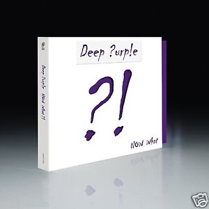 Deep Purple - Now What ? ! CD + DVD Deluxe Edition 2013 New Album