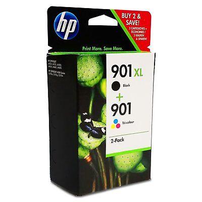 Original HP 901XL Tinte Patronen OFFICEJET 4500 J4524 J4535 J4540 J4545 J4580