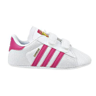 Adidas Originals Superstar Infant Shoes White/Bold Pink s79917