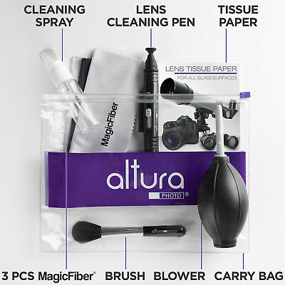 Купить Altura Photo - Altura Photo® Professional Lens Cleaning kit for Canon Nikon Sony DSLR Camera