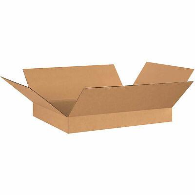 26 X 20 X 4 Flat Cardboard Corrugated Boxes 200ect-32 Lot Of 20