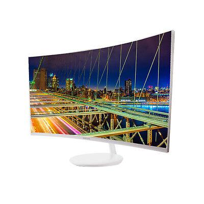 Samsung SyncMaster C27H711QEU LED display 68,6 cm (27 Zoll) Wide Quad HD Gebogen Matt Weiß