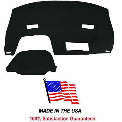 Black Dash Cover Compatible with 1994-1995 Chevy Lumina APV Mini Van CH97-5 - Mini Dash Cover