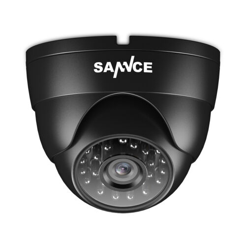 SANNCE 1pcs In/Outdoor 900TVL IR Cut Home Surveillance Dome