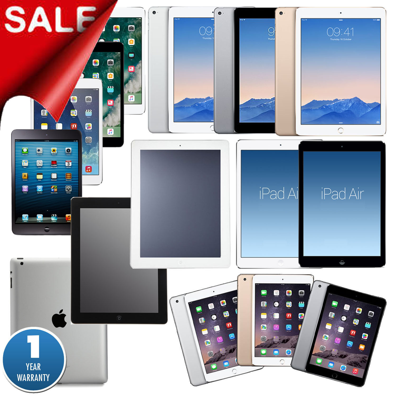 Ipad Mini - iPad 1/2/3/4,Air,mini,Pro 9.7/12.9 |16GB/32GB/64GB/128GB 1-YEAR-WARRANTY