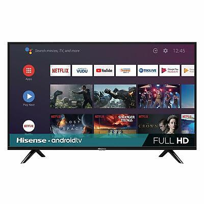 Hisense 32-inch 720p HD Android Smart LED TV 2019 w/ Google Assistant, 32H5590F