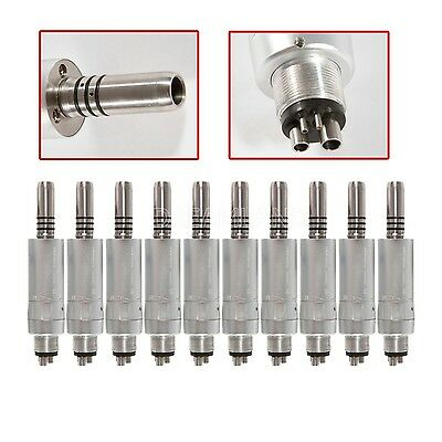 10 Kavo Style Dental E-type Air Motor 4hole Slow Speed Handpiece Inner Spray Gm