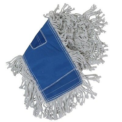 Tricol 38486 Launderable Replacement Dust Mop Cotton 5.5 X 18-inch