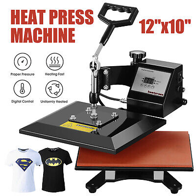 12 X 10 Swing Away Digital Heat Press Machine Transfer Sublimation T-shirt