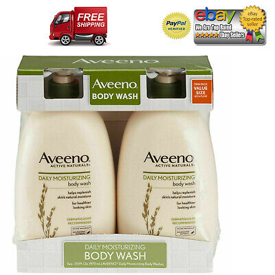 Aveeno Daily Moisturizing Body Wash (33 fl. oz., 2 pk.)*BEST DEAL AND