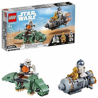 NEW LEGO Star Wars 75228 Escape Pod vs Dewback Microfighters