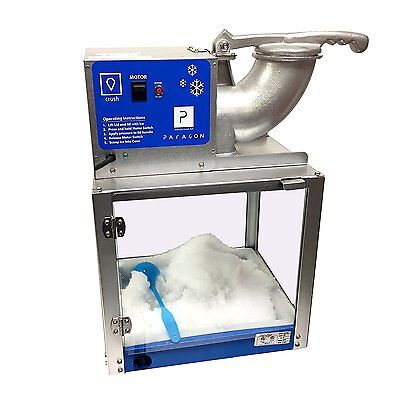 Snow Cone Machine Commercial Ice Shaver Heavy Duty Electric Crusher Icee Party