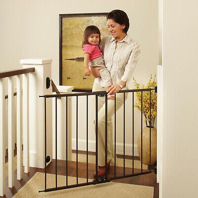 baby safety gate door walk through pet